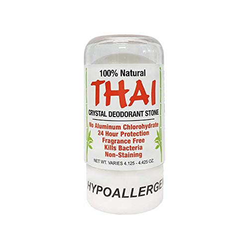 Deodorant Stones of America: Thai Crystal Deodorant, 4.25 oz (Pack of 2), Packaging May Vary