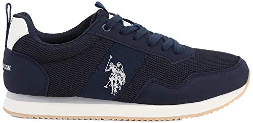 U.S. POLO ASSN. Exte, Sneaker Uomo, Blu (Dk Bl 002), 40 EU