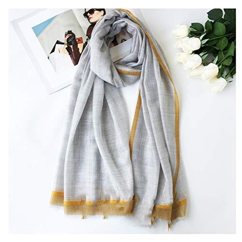 liangzishop Winterschal Klassische Damen Schal Cashmere Dünne Schals Herbst und Winter-Super Soft-Schal Big Plaid Wrapped Blanket Damen Schal (Color : B)