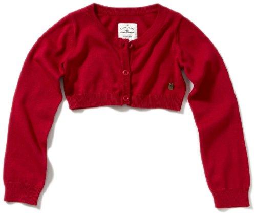 TOM TAILOR Kids Mädchen Pullover 30154000040/knitted bolero, Gr. 176, Rot (4172)