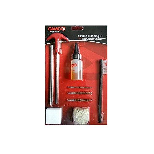 Gamo 6212460CP Kit de Limpieza para Armas de Aire Comprimido, Hombre, Negro, Talla Única