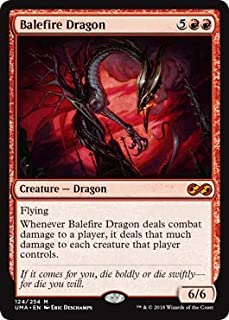 Magic: The Gathering - Balefire Dragon - Foil - Ultimate Masters - Mythic