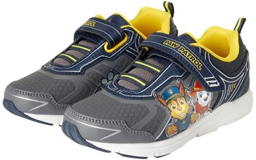 Nickelodeon Boys' Paw Patrol Sneakers - Light Up Running Shoes (Toddler/Little Kid), Size 8 Toddler, Grey Yellow