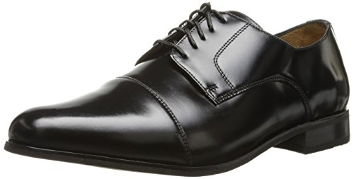 Florsheim Men's Broxton Cap Toe Lace Up Oxford Dress Shoe, Black, 11 D US