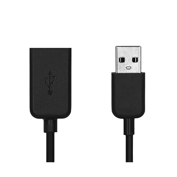kwmobile Cable de Carga Compatible con Polar M200 - Conector USB con Base de conexión para Fitness Tracker y smartwatch 4