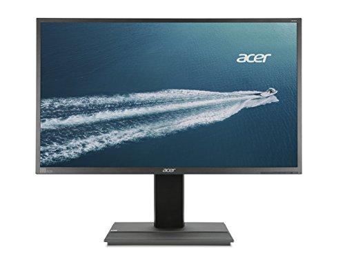 Acer B326HKymjdpphz 81,3cm (32 Zoll) Monitor (DVI, HDMI, USB Hub, UHD 3840 x 2160, Pivot-Funktion, 6ms Reaktionszeit, EEK C) dunkelgrau