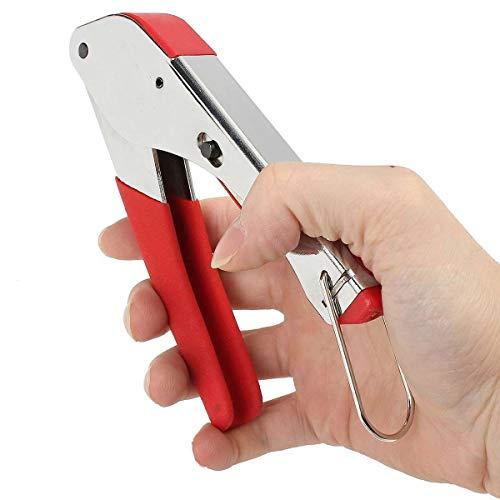 U/D Pimbuster Stecker Kompression Werkzeug for RG6 RG59 F Montage Koaxialkabel Quetschen Striper Draht Abisolierzange Kit