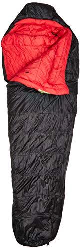 LOWLAND OUTDOOR® Sac de Couchage sarcophage en Fibre synthétique – Pulsar 3-230 x 80 cm – Nylon -5°C – 1575 g – Fermeture éclair à Droite