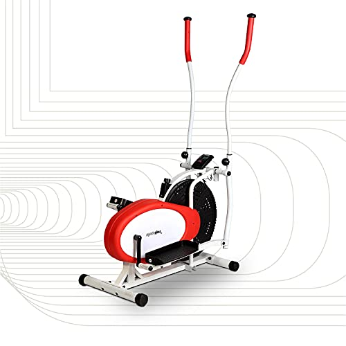 SportPlus Cross Trainer with Training Computer and...