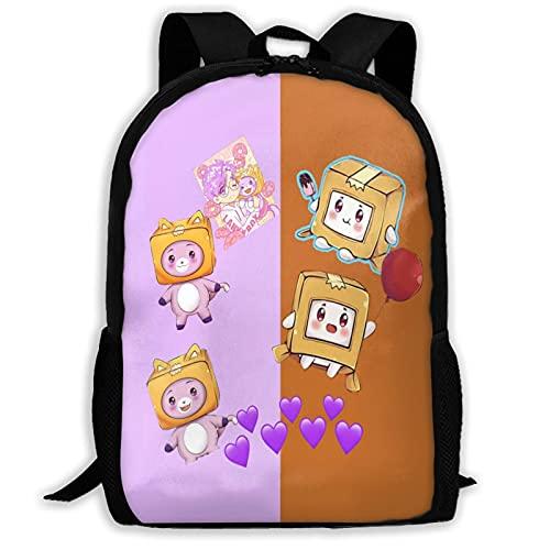 Mochila para niños Lanky-y-Box Back para escolares para niños