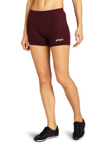 ASICS Damen Baseline Volleyball Short, kastanienbraun, X-Small