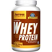 Jarrow Formulas Whey Protein Chocolate, Supports Muscle Development, 16 Oz