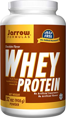 Jarrow Formulas Whey Protein, Supports Muscle Development, Chocolate, 32 Oz