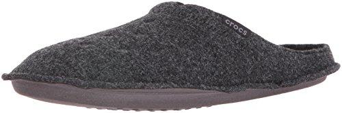 Crocs Classic Slipper, Unisex-Erwachsene Niedrig, Classic Slipper, Schwarz (Black/Black), 37/38 EU
