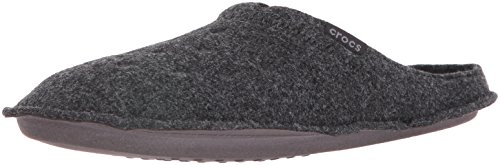 Crocs Classic Slipper, Zapatillas de Estar por casa Unisex Adulto, Negro (Black/Black), 42/43 EU