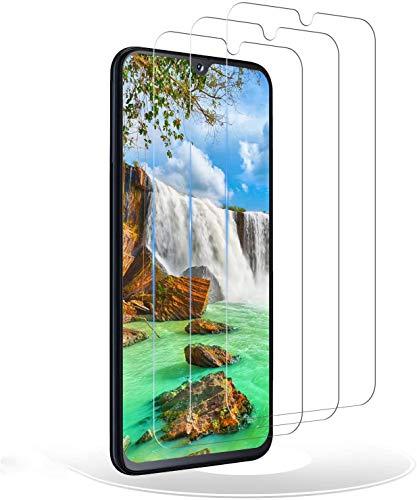 RIIMUHIR Protection écran Verre Trempé pour Samsung Galaxy A40 [Lot de 3],9H Dureté,HD Ultra Film Protection Protecteur D'écran pour Samsung Galaxy A40