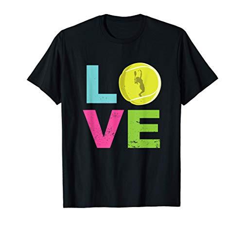 Love Tennis I Tennisspielerin I Tennis T-Shirt