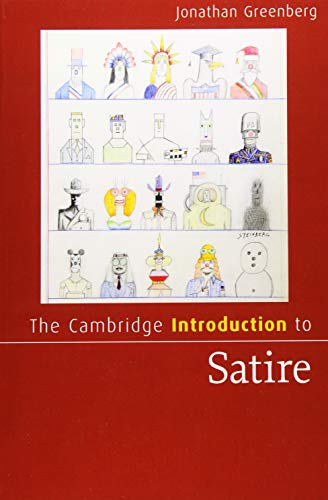 Compare Textbook Prices for The Cambridge Introduction to Satire Cambridge Introductions to Literature  ISBN 9781107682054 by Greenberg, Jonathan