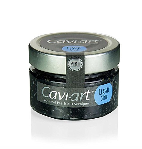 Cavi-Art® Algen-Kaviar schwarz 100g