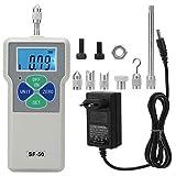 Misuratore di forza digitale, SF-50 Misuratore di pressione portatile push-pull 50N / 5kg / 11lb 100-240 V per...