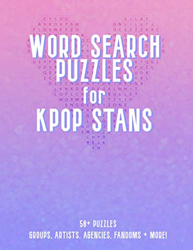Word Search Puzzles for KPop Stans: A KPop Puzzle Activity Book