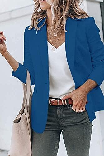 Royal blue blazer women _image4