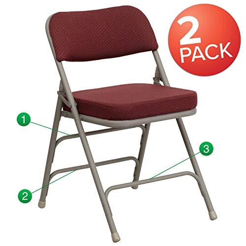 Flash Furniture 2 Pk. HERCULES Series Premium...