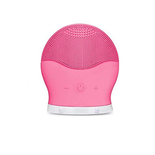 Yjdr Sonic Gesichtsreinigungsbürste, weiches Silikon-wasserdichte Gesichtsreinigung, elektrische Reiniger Pinsel Silikon for Intensivreinigung, Entfernen Mitesser und Massage for Haut-Peeling, Tiefenr