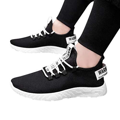 Dasongff Schuhe Herren Laufschuhe Sneaker Outdoor Schnürer Sportschuhe Turnschuhe Männer Joggingschuhe Atmungsaktiv Running Shoes Men Walking Schuhe Freizeitschuhe Fitness Schuhe Halbschuhe
