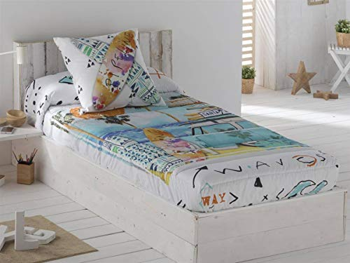 JVR Textiles - Verstellbare Steppdecke Beach - Bett...