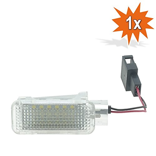 2 x Do!LED I09/LED SMD Ambient Lighting Mirror Ambient Light with E Certification Mark.