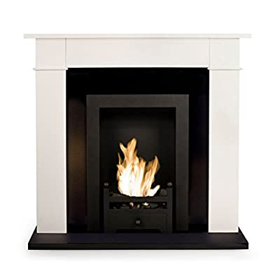 Bio Fires - Carrington Cream Traditional Bio Ethanol Fireplace