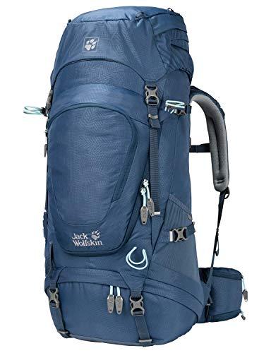 Jack Wolfskin Damen Highland Trail XT 45 Women Wandern Outdoor Trekking Rucksack, Leaf Dark Sky, Einheitsgröße