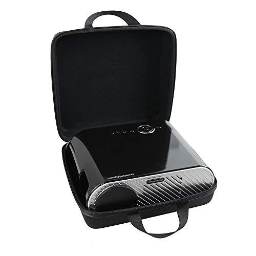 Hermitshell Hard EVA Travel Case Fits FANGOR 6500 Lumens /Ohderii Portable Projector / GooDee GD-600 HD Video Projector Outdoor Movie Projector