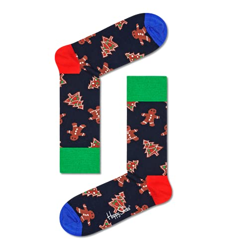 Happy Socks farbenfrohe & verspielte Gingerbread Cookies Socken Mehrfarbig Größe 36-40
