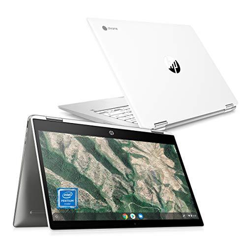Google Chromebook HP ノートパソコン インテル Pentium® Silver 8GBメモリ 64GB eMMC 14インチ フルHDブラ...