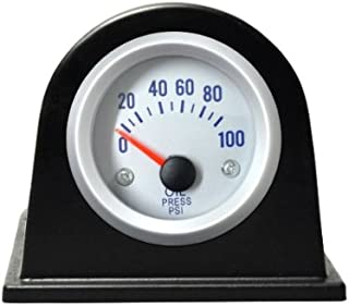 MagiDeal Term/ómetro An/álogo Medidor de Temperatura Celsius Montaje de Tablero para Coche #Negro