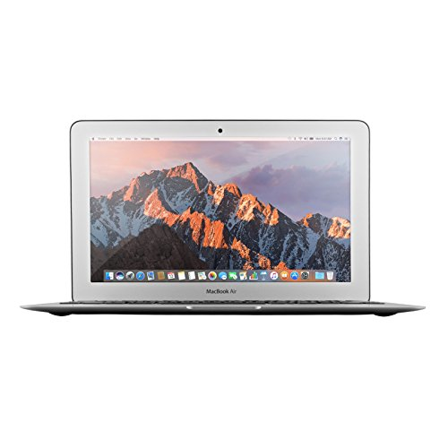 Apple MacBook Air 13.3in MJVE2LL/A - 2.2GHz Intel Core i7, 8GB RAM, 128GB SSD - Silver (Renewed)