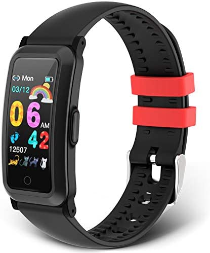 moreFit Kids Fitness Tracker New Upgraded Waterproof Activity Tracker Watch for Children Health product image