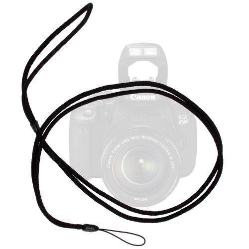 DURAGADGET Lanière/Tour de Cou d'Attache élégant et résistant pour Transporter Votre Appareil Photo SLR Canon EOS 650D et EOS 6D, Canon EOS 5D MK II/MK III