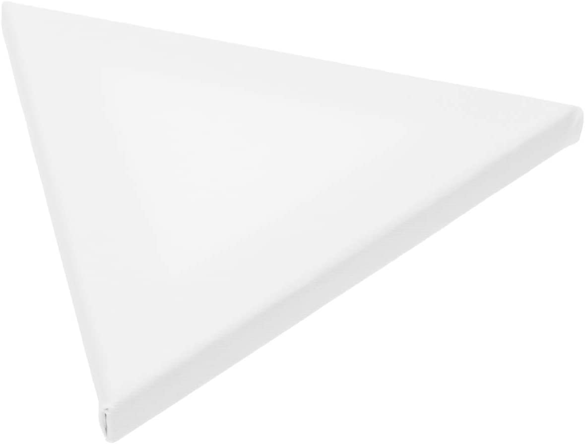 ARTIBETTER 2pcs Triangle Canvas Panel Japan's largest assortment Painting Cotton Boards Opening large release sale for