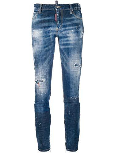 DSQUARED2 Luxury Fashion Damen S75LB0272S30342470 Blau Baumwolle Jeans   Frühling Sommer 20