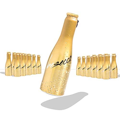 JUST BE Secco   Piccolo frizzante l Prickelnder Premium Weiss-Wein (24)