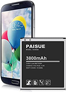 Galaxy S4 Battery, 3800mAh New Upgraded Li-ion Replacement Battery for Samsung Galaxy S4 EB-B600BE, I337 AT&T, I545 Verizo...