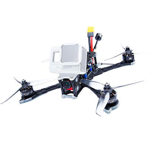 iFlight Nazgul 5 227mm 4S/6S 5 Inch SucceX-EF4 Freestyle FPV Racing Drone BNF PNP SucceX-E F4 Flight Controller Caddx Ratel TBS Frsky 45A BLheli_S ESC 2207 2450KV Motor (4S,BNF with R-XSR RX)
