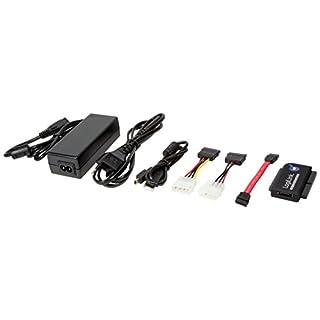LogiLink - Adaptador USB 2.0 a IDE y SATA Cable con PSU, Negro (Importado) (B001EOO660) | Amazon price tracker / tracking, Amazon price history charts, Amazon price watches, Amazon price drop alerts