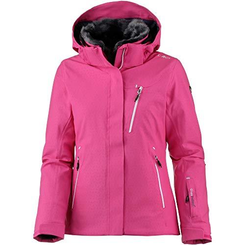CMP Damen Wattierte PFC Free 10000 Skijacke Jacke, Strawberry, 40