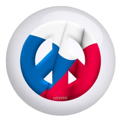 Bowlerstore Products Czechoslovakia Rebublic Meyoto Flag Bowling Ball (15lbs)