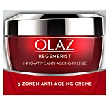 Olaz Regenerist 3-Zonen Straffende Anti-Aging Creme 50ml, Mit Amino-Peptid-Komplex II