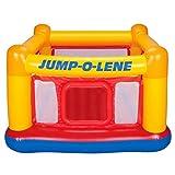 vwretails playhouse jump-o-lene inflatable bouncer, 68l x 68wx 44h(172.72cm x 172.72cm x 111.76cm) -without pump-Multi color